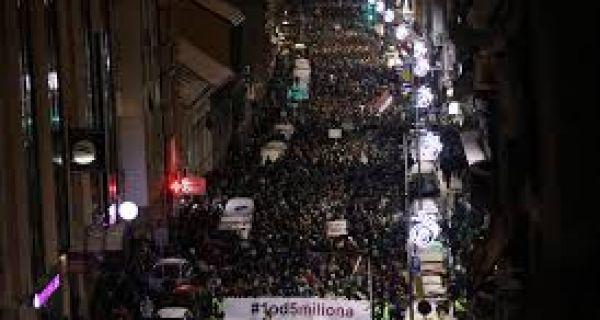 Са протеста Један од пет милиона у Београду затражена оставка министра Златибора Лочнара