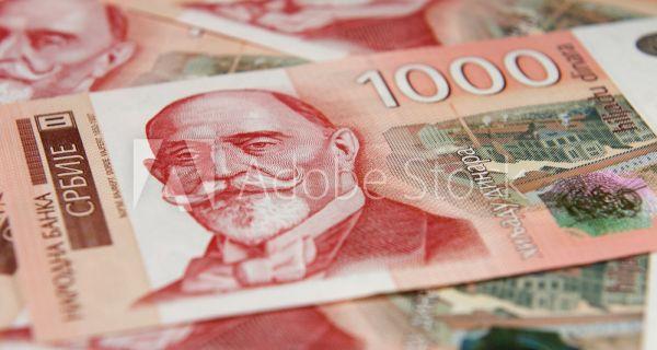 Просечене зараде у Србију у априлу 54.645 динара
