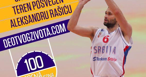 """Šabac od Mozzarta dobija košarkaški teren """"Aleksandar Rašić"""""""