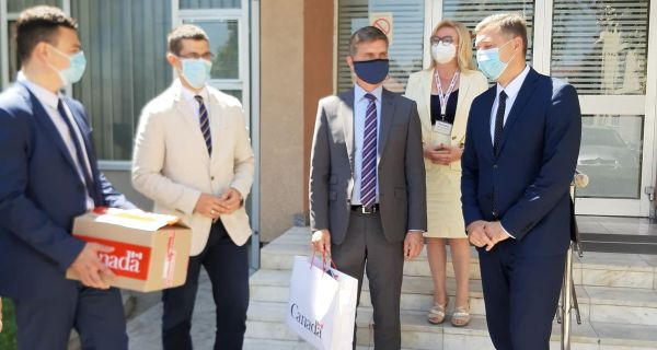 Donacija zaposlenih ambasade Kanade Domu zdravlja