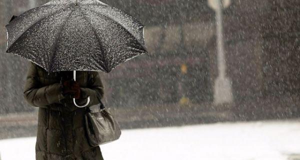 Променљиво са кишом и снегом