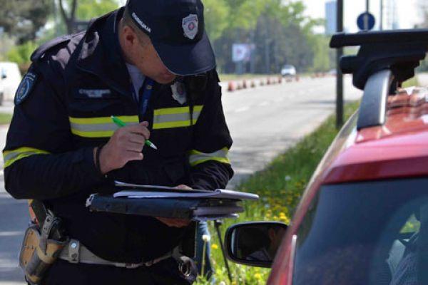 Возио под дејством алкохола, без дозволе и саобраћајне