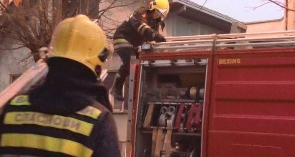 Запалила се кућа у Поцерском Метковићу