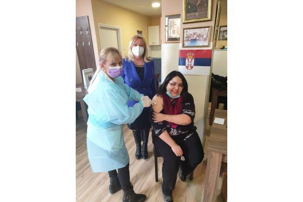 Vakcinacinisani Romi povodom njihovog dana