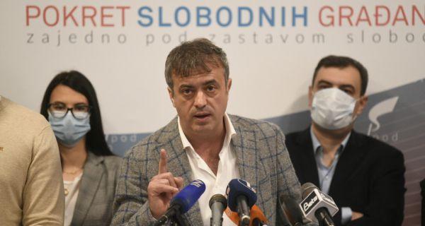 Трифуновић (ПСГ): ПСГ и даље прикупља потписе и разговара с грађанима