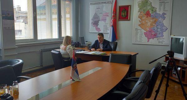 Načelnik MUO, Vladan Krasavac o sistemu automatizovane odbrane od grada