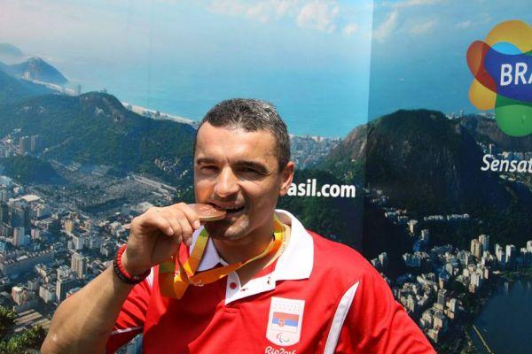 Митар у походу на медаљу