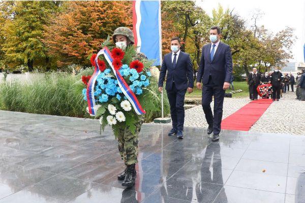 Obeležena 77. godišnjica oslobođenja Šapca u Drugom svetskom ratu