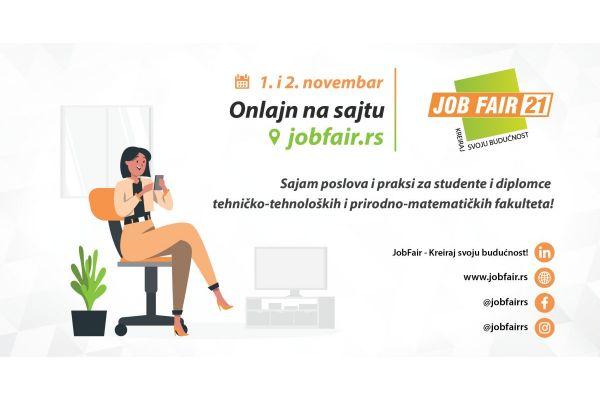 """Sajam poslova i praksi """"JobFair─ Kreiraj svoju budućnost!"""""""
