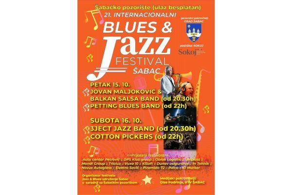 XXI Интернационални шабачки блуз и џез фестивал