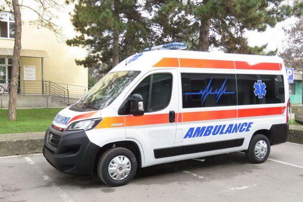 Dvoje povređenih u sudaru u Duvaništu