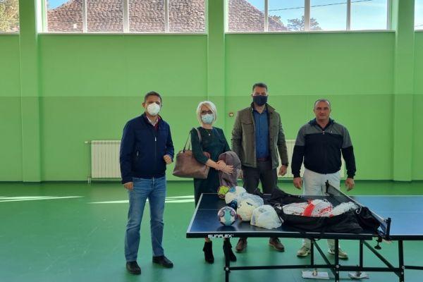 Poseta opštini Koceljeva i Osnovnoj školi u Donjem Crniljevu