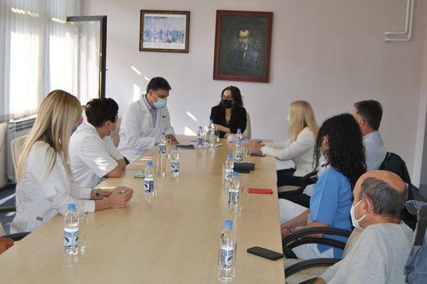 Radni sastanak o epidemijskoj situaciji