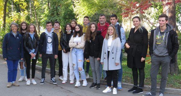 Посета ученика из Француске и Словачке