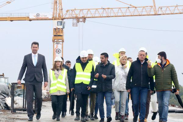 Министар грађевинарства, саобраћаја и инфраструктуре Томислав Момировић у Шапцу