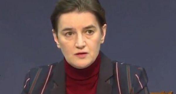 Premijerka:Testiranje Srbiju dnevno košta do 500.000 evra, Šabac prvi po broju pozitivnih
