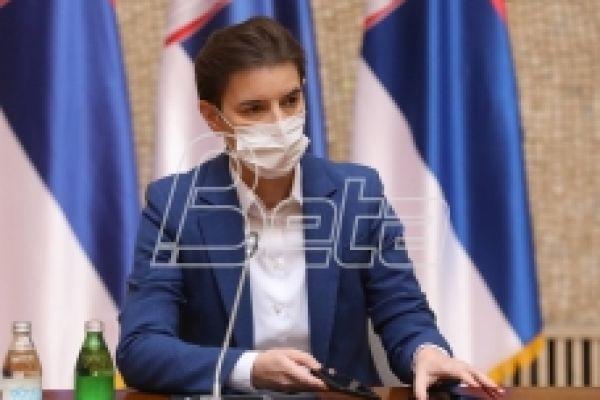 Брнабић: Данас, најкасније сутра излазимо са новим епидемиолошким мерама