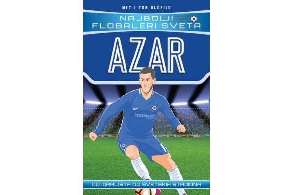 "Knjiga za najmlađe ljubitelje fudbala – ""Najbolji fudbaleri sveta: Azar"""