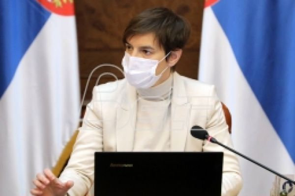 Брнабић: Сутра стиже још 58.500 Фајзер вакцина