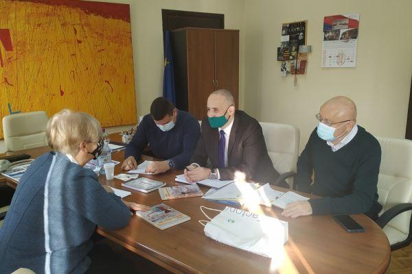 Радни састанак представника општине Богатић у Министарству културе и информисања