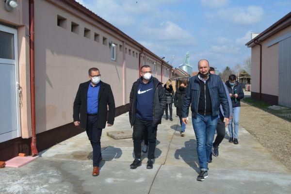Ministar Nedimović posetio opštinu Bogatić