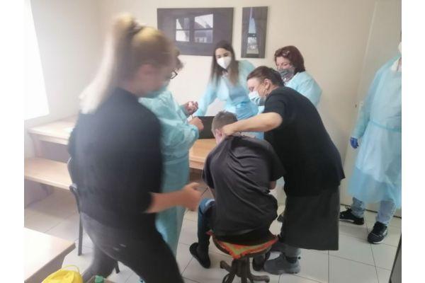 Akcija imunizacije u Karitas Avliji održivog razvoja