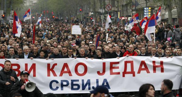 Данас нови протест Један од пет милиона у Београду