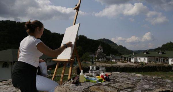 У Манастиру Соко уметничка колонија ШПУ