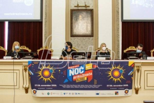 Sutra i u Srbiji Evropska noć istraživača