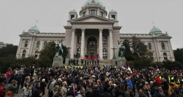 Trifunović: Tužan momenat što smo posle 20 godina na protestu, ne očekujte rezultate danas ili sutra