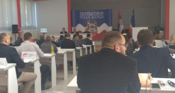 Почела 25. седница Скупштине града Шапца