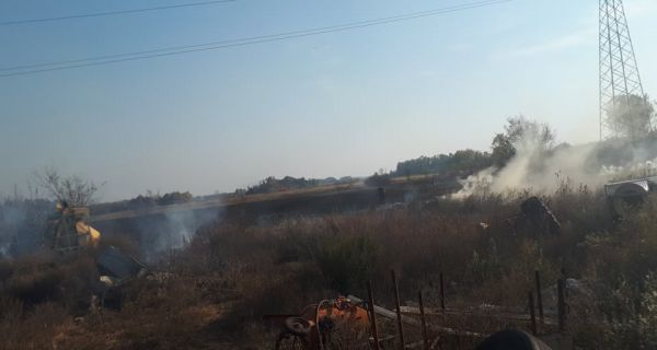 Угашен пожар у Јевремовцу