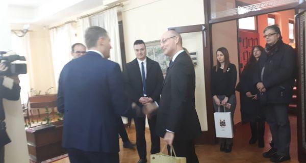 Француски амбасадор у Шапцу