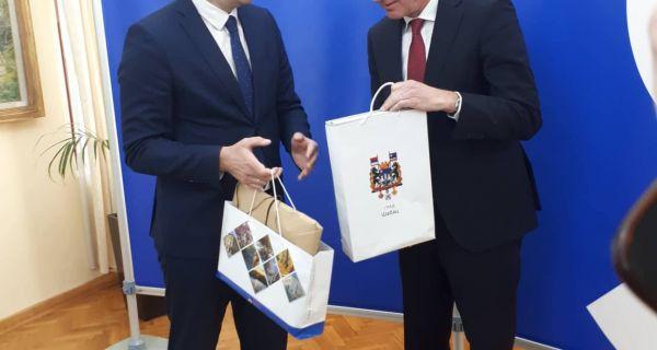 Немачки амбасадор у посети Шапцу
