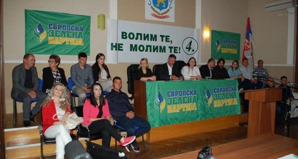 Европска зелена партија Богатић захваљује гласачима