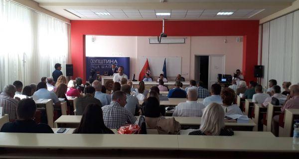 Почела седница Скупштине града Шапца
