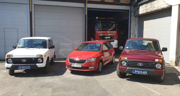 Još tri vozila Odeljenju za vanredne situacije u Šapcu
