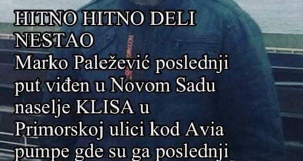 Mladić iz Prova nestao u Novom Sadu
