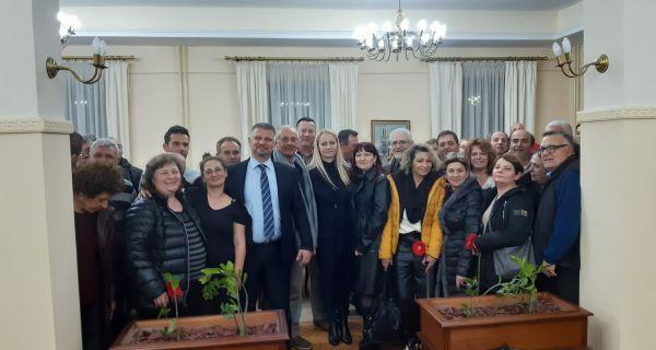 Delegacija Krfa u poseti Šapcu i Prnjavoru