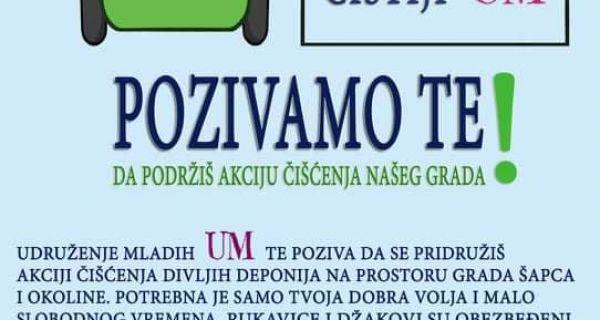 Subota,7.mart: Čist grad za čistiji um