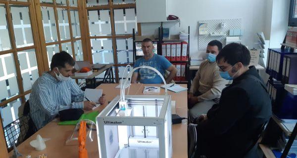 U Trening centru počela osnovna obuka za rad na 3D štampaču