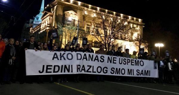 Завршена меморијална шетња за Зорана Ђинђића