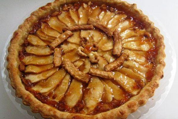 Наопаки колач са јабукама