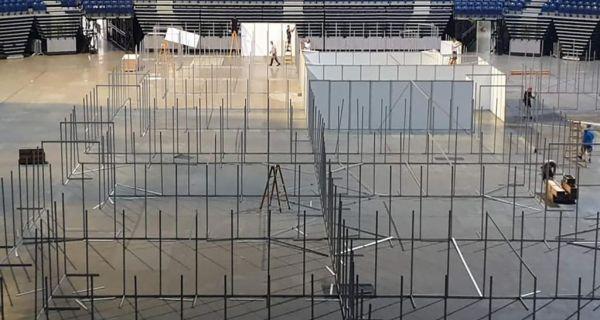 Arena, najveća sportska hala od danas kovid bolnica