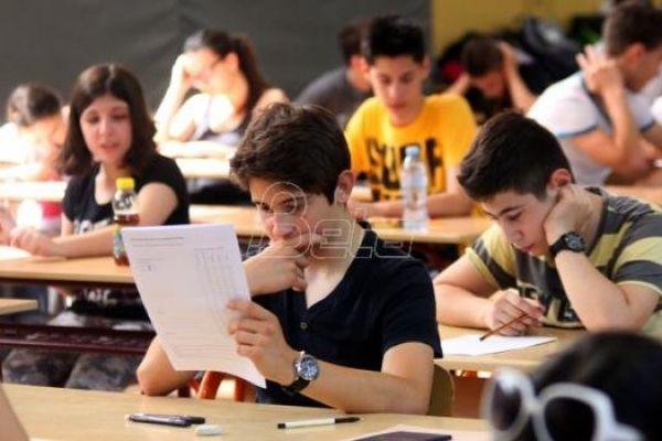 Probni završni test iz matematike danas u osnovnim školama