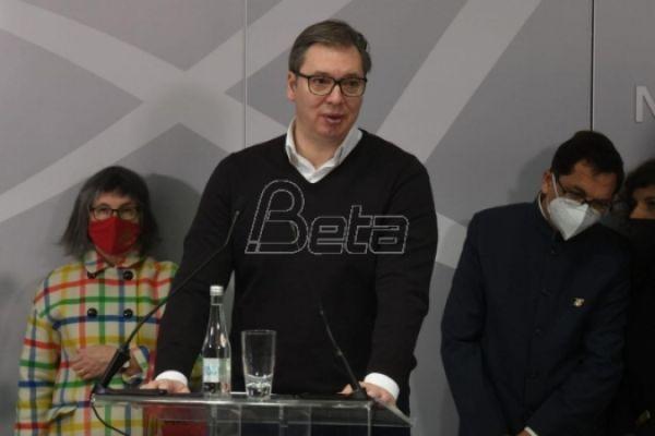 Вучић: Седница Савета за националну безбедност одложена због вештачења доказа о Беливуковој групи