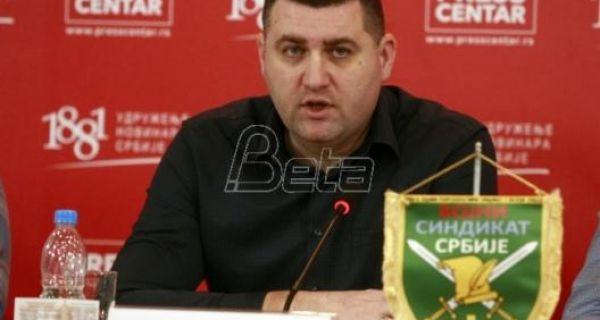 Војни синдикат Србије: Раме уз раме са народом на улици