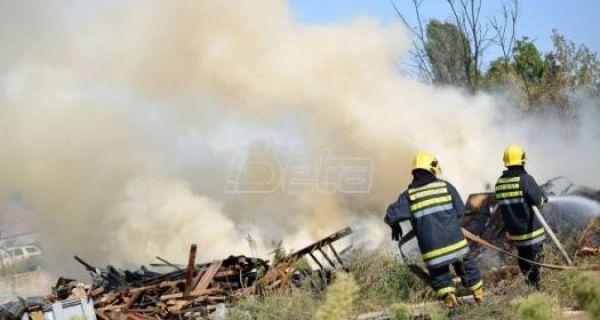 Пожар код Подгорице, готово стигао до кућа