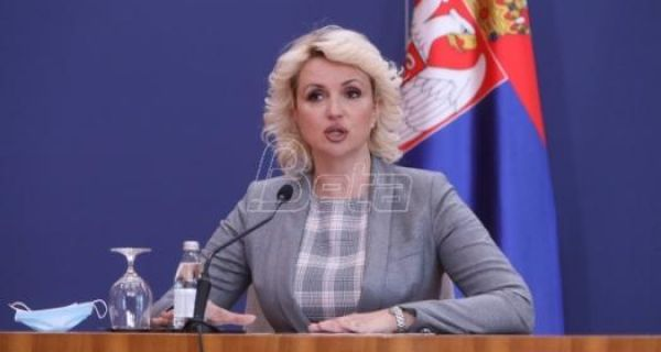 Kisić Tepavčević: Od svih potvrđenih slučajeva infekcije, 15 odsto je hospitalizovanih