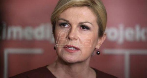 Председница Хрватске: Дестабилизација Србије утицала би на регион